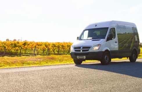 Pillitteri Delivery Van